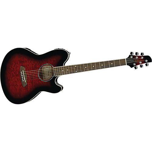 ibanez tcy20e talman double cutaway acoustic electric guitar musician 39 s friend. Black Bedroom Furniture Sets. Home Design Ideas