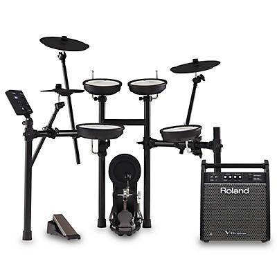 Roland TD-07KV V-Drums Electronic Drum Set with PM-100 V-Drum Speaker System