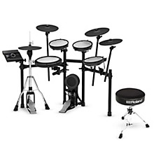 Roland TD-17KVX V-Drums Electronic Drum Set with Free Roland Throne