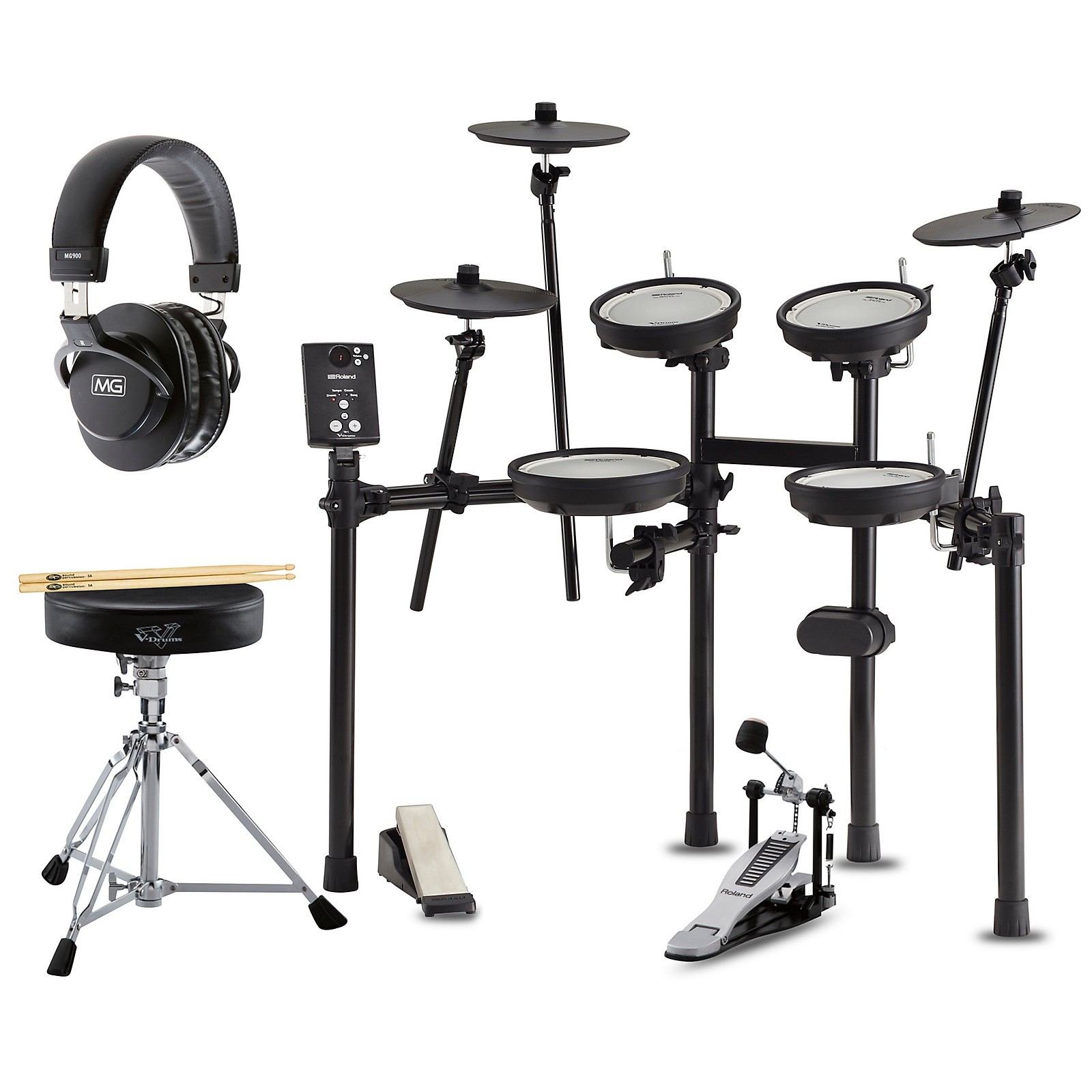 Roland TD-1DMK Electronic Drum Set Premium Bundle