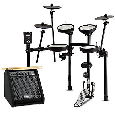 Roland TD-1DMK Electronic Drum Set with Simmons DA50B Bluetooth Monitor Starter Bundle
