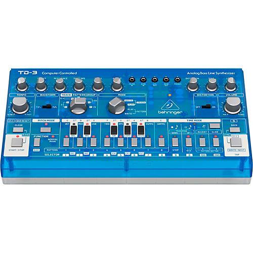 Behringer TD-3 Analog Bass Line Synthesizer Blueberry