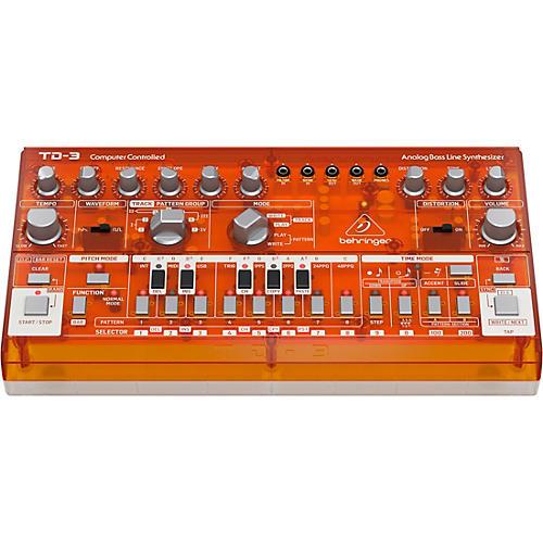 Behringer TD-3 Analog Bass Line Synthesizer Tangerine