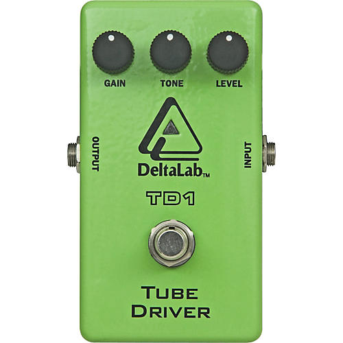 DeltaLab TD1 Tube Driver Guitar Effects Pedal