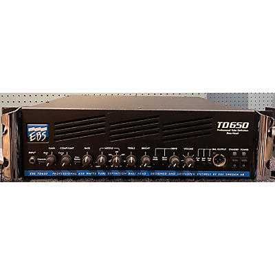 EBS TD650 Tube Bass Amp Head