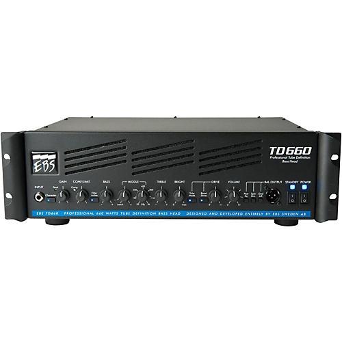 EBS TD660 660W Bass Guitar Amplifier Head