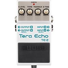 Open BoxBoss TE-2 Tera Echo Guitar Effects Pedal