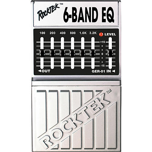 Rocktek TER-01 6-Band Graphic EQ Pedal