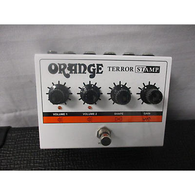 Orange Amplifiers TERROR STAMP Effect Pedal