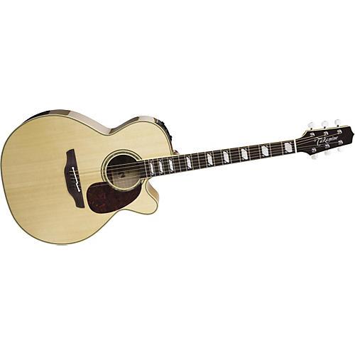 Takamine TF450GC Sante Fe NEX Flame Maple Acoustic-Electric Guitar