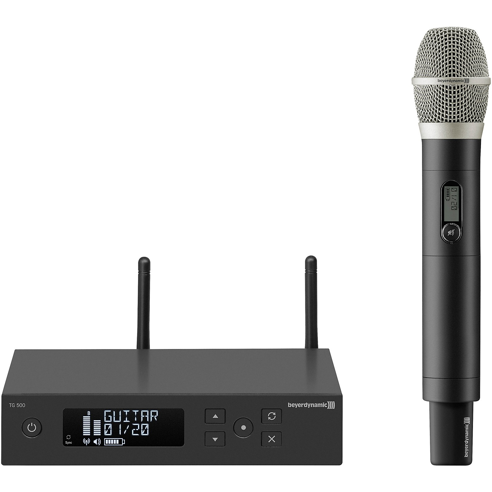 Beyerdynamic TG 556 Wireless Condenser Vocal Microphone Package