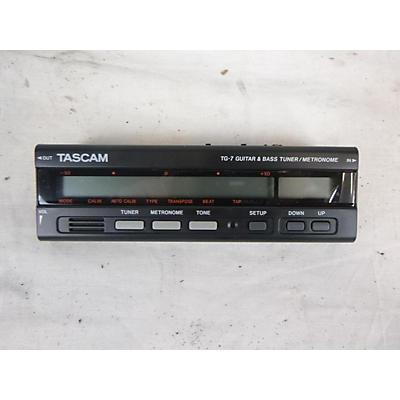 Tascam TG7 Tuner