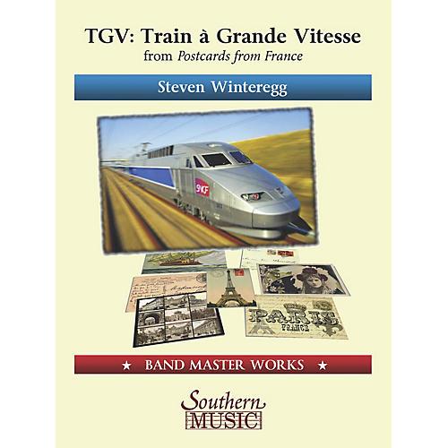 Lauren Keiser Music Publishing TGV (Train á Grande Vitesse) from Postcards from France Concert Band Level 4 Composed by Steven Winteregg