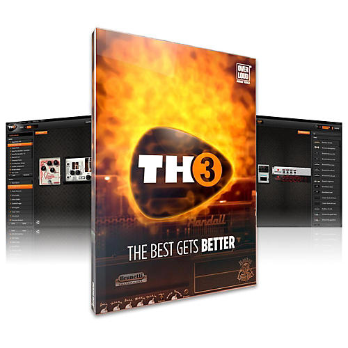 Overloud TH-3 Custom Guitar Effects Suite