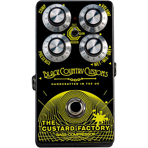 Laney THE CUSTARD FACTORY Bass Compression Effects Pedal Black