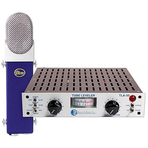 BLUE TLA-50 Tube Leveling Amplifier & Blueberry Condenser Microphone Kit