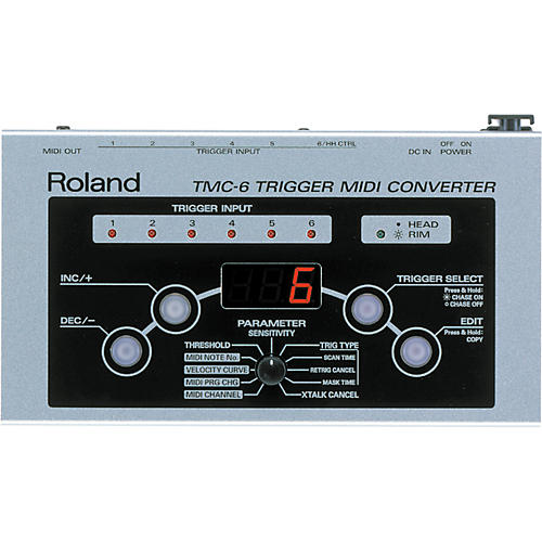 roland tmc6 trigger midi converter musician 39 s friend. Black Bedroom Furniture Sets. Home Design Ideas