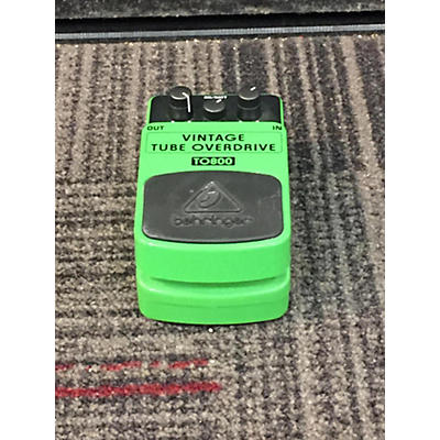 Behringer TO800 Vintage Tbe Over Drive Effect Pedal