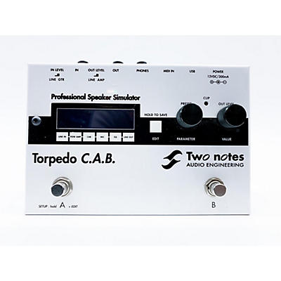 Two Notes Audio Engineering TORPEDO C.A.B. Effect Pedal
