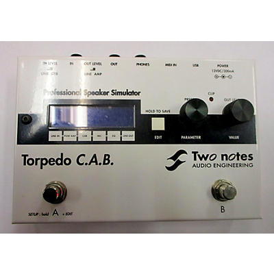Two Notes Audio Engineering TORPEDO C.A.B. PRO Multi Effects Processor