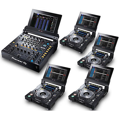 Pioneer TOUR System with 4 CDJ-TOUR1 Media Players
