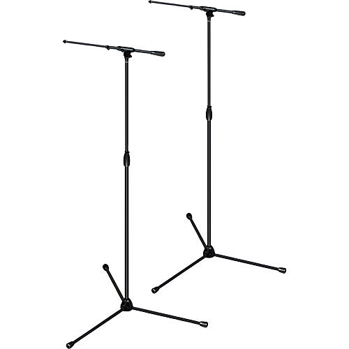 Ultimate Support TOUR-T-TALL-T Pkg-tripod base/telescoping boom,X tall height 2-Pack