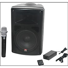 Open Box Galaxy Audio TQ8-20H0N Traveler Quest 8 All-In-One Portable PA System With One Receiver And One Handheld Microphone