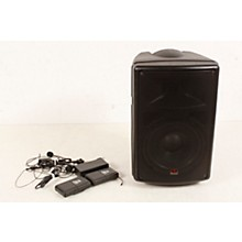 Open BoxGalaxy Audio TQ8-24SSN Traveler Quest 8 TQ8 Battery Powered PA Speaker System With 2 Receivers and 2 Headset Microphones