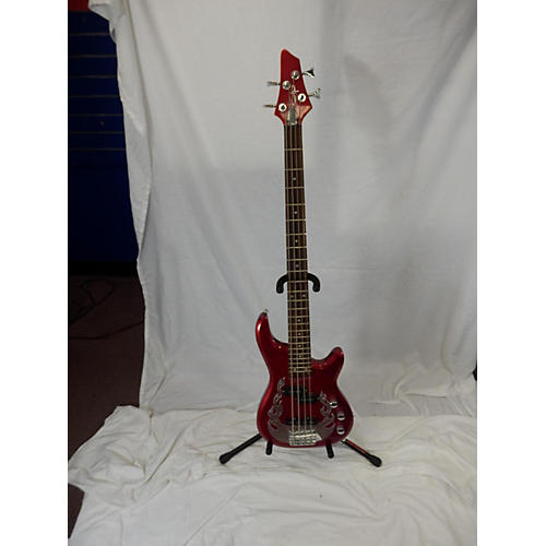 OLP TRABEN Electric Bass Guitar Candy Apple Red