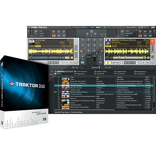 Native Instruments TRAKTOR DUO DJ Software