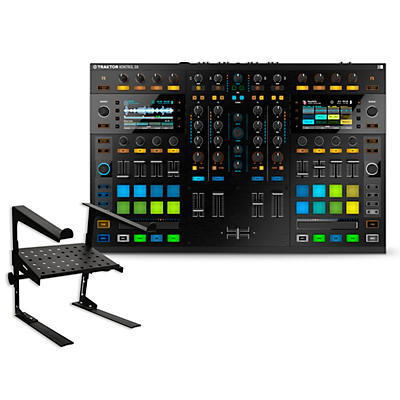 Native Instruments TRAKTOR KONTROL S8 with Laptop Stand