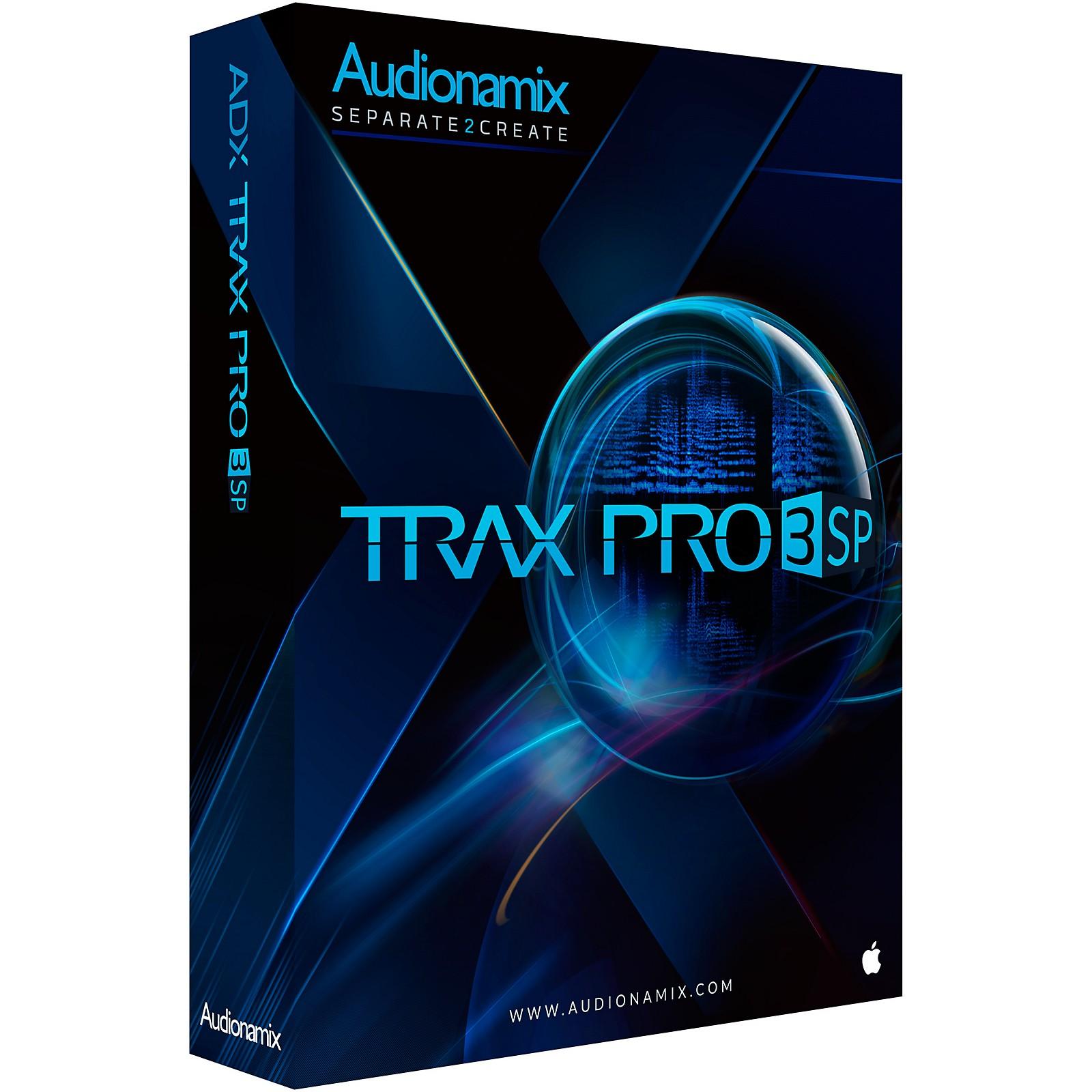 Audionamix TRAX PRO 3 SP Software Download