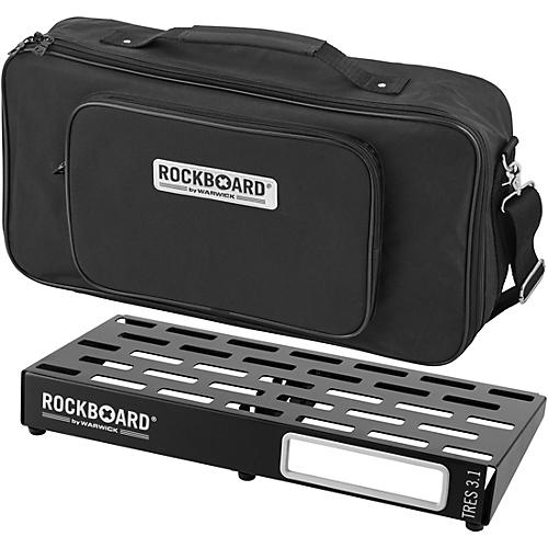 RockBoard TRES 3.1 Pedalboard with Gig Bag