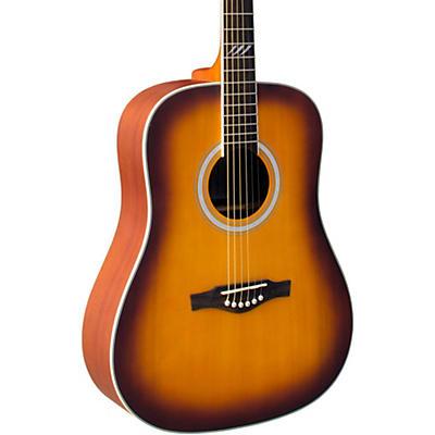 EKO TRI Series Dreadnought Acoustic Guitar