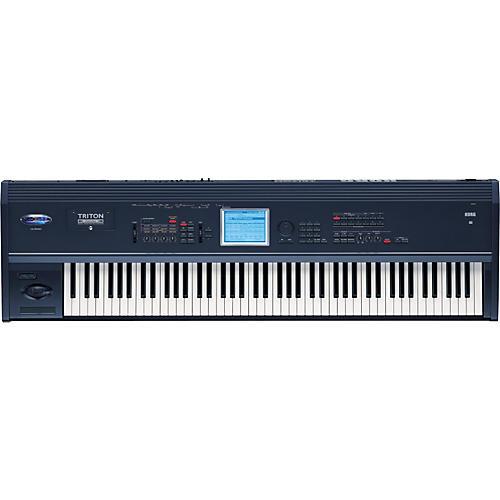 korg triton extreme 88 key music workstation sampler musician 39 s friend. Black Bedroom Furniture Sets. Home Design Ideas