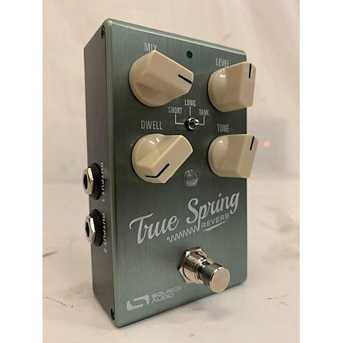 Source Audio TRUE SPRING REVERB Effect Pedal