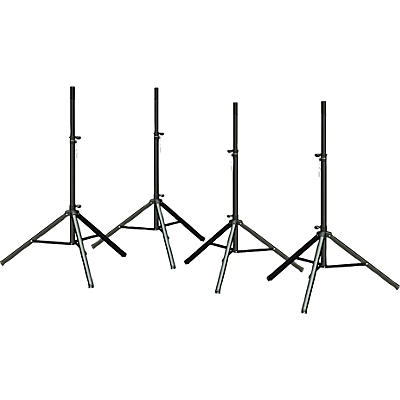 Ultimate Support TS 70b Speaker Stand 4-Pack