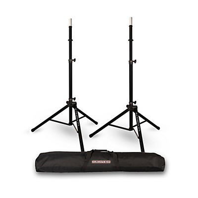 Ultimate Support TS-85 Speaker Stand 2-Pack with Musicians Gear Speaker Stand Bag