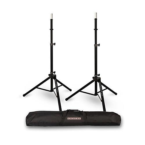 ultimate support ts 85 speaker stand 2 pack with musicians gear speaker stand bag musician 39 s. Black Bedroom Furniture Sets. Home Design Ideas