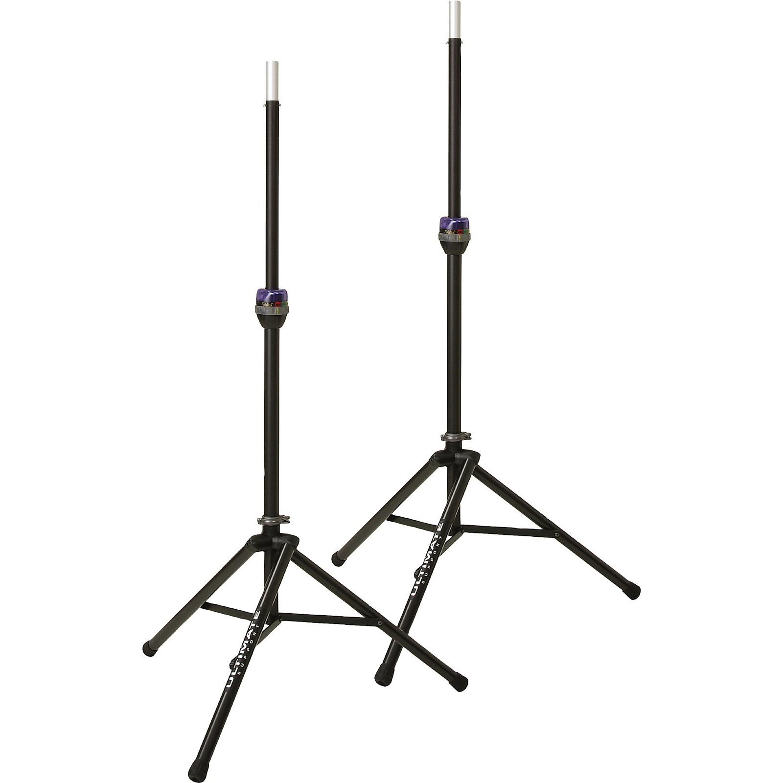 Ultimate Support Ts 90b Telelock Tripod Speaker Stand Pair