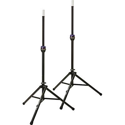 Ultimate Support TS-90B Telelock Tripod Speaker Stand Pair