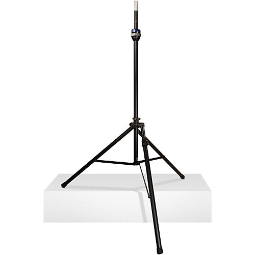 Ultimate Support TS-99BL - Tall, Leveling-Leg Speaker Stand Black