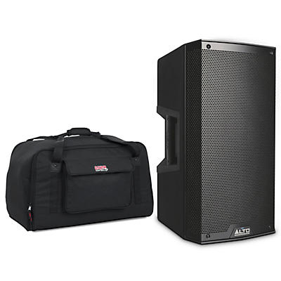 """Alto TS312 2,000W 12"""" 2-Way Powered Speaker with Tote"""