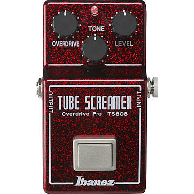 Ibanez TS808 40th Anniversary Tube Screamer Overdrive Pro Limited Edition Effects Pedal