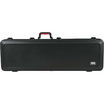 Gator TSA ATA Molded Electric Bass Guitar Case with LED Ligh