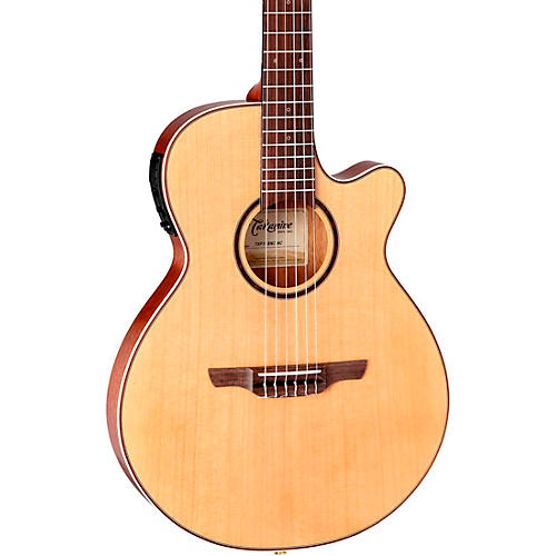 Takamine TSP148NC Nylon Thinline Acoustic-Electric Guitar Satin Natural