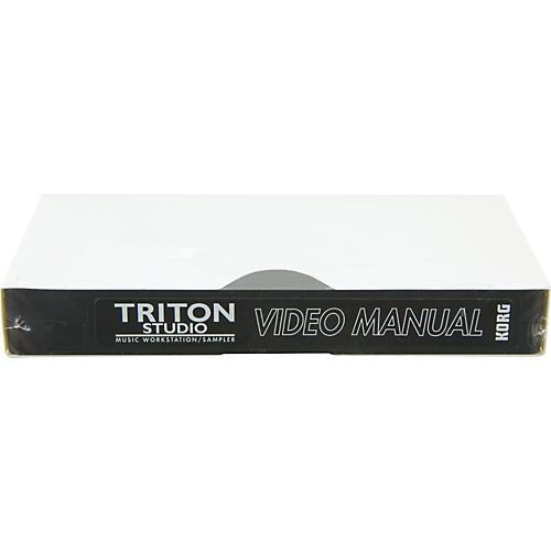 Korg TSVDO Vol 2 TRITON Studio Advanced Video Manual