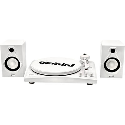 Gemini TT-900WW Vinyl Record Player Turntable With Bluetooth and Dual Stereo Speakers