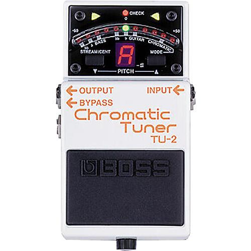 Boss TU-2 Chromatic Stompbox Tuner