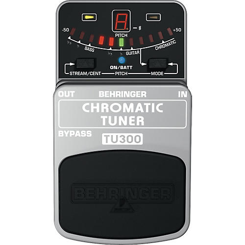 behringer tu300 chromatic pedal tuner musician 39 s friend. Black Bedroom Furniture Sets. Home Design Ideas